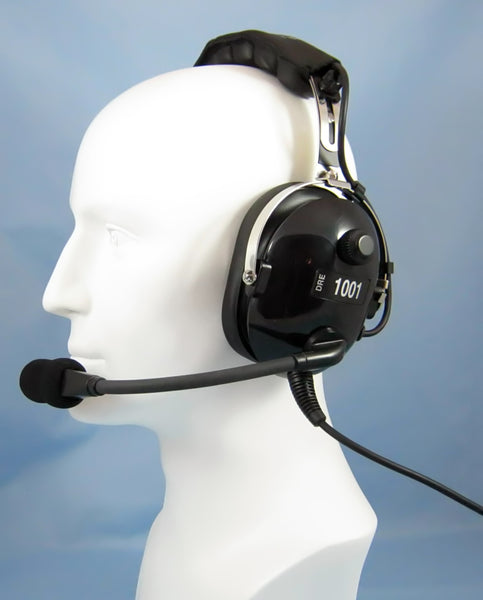 Headsets, Inc. DRE-1001 PNR General Aviation Headset - Professional Aviation Headsets
