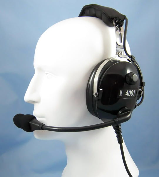 Headsets, Inc. DRE-4001 Stereo PNR General Aviation Headset - Professional Aviation Headsets