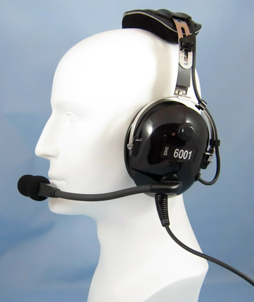 Headsets, Inc. DRE-6001 Stereo ANR General Aviation Headset - Professional Aviation Headsets