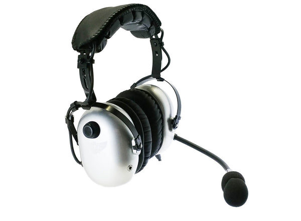 AVComm AC950 ANR Deluxe Aviation Headset - Professional Aviation Headsets