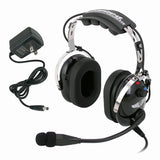 Rugged Radios RW-RA900 Wireless Aviation Pilot Headset