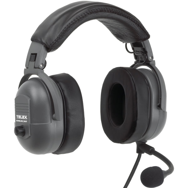 Telex Echelon 25XT Passive Noise Reduction Aviation Headset - Professional Aviation Headsets