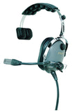 Pilot-USA PA-1110 PNR Aviation Headset, Single Sided Ear Cup - Professional Aviation Headsets