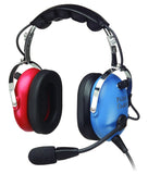 Pilot-USA PA-1151ACB Child's General Aviation Headset - Professional Aviation Headsets
