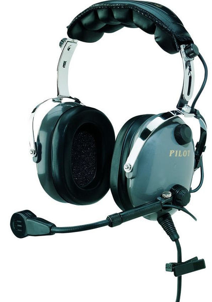 Pilot-USA PA-1166M Military Aviation Headset - Professional Aviation Headsets