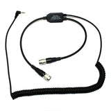 Pilot-USA PA-80D/Contour Contour+2 Recorder Adapter for David Clark Headset