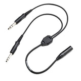 Pilot-USA PA-89/A20 Bose A20 (6 Pin) Headset to GA Adapter
