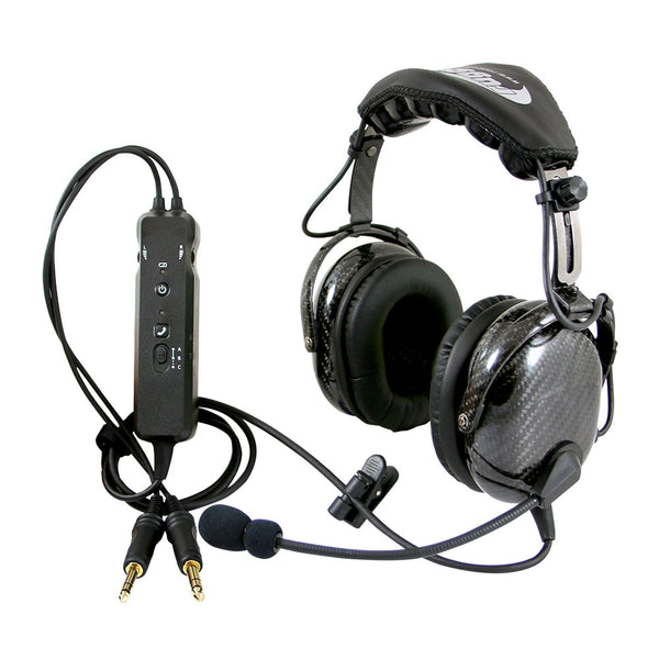 Rugged Radios RA980 General Aviation ANR Headset with Bluetooth - Professional Aviation Headsets