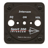 "Sigtronics 900117 Sport 200 and 200S Faceplate (2 ¼"" round) Adapts Sport 200 and 200S Intercoms to standard 2¼"" round instrument holes."