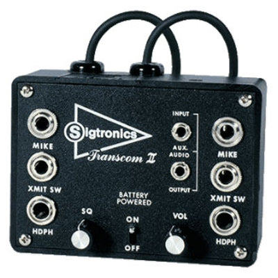 Sigtronics SPO-82 8 Place Transcom II Portable Intercoms - Professional Aviation Headsets