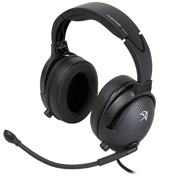 Flightcom Denali D50ANR Aviation Headset With ANR