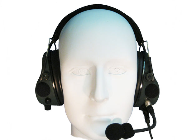 Headsets, Inc. EM-002-ACH-300 Tactical ANR Military Aviation Headset