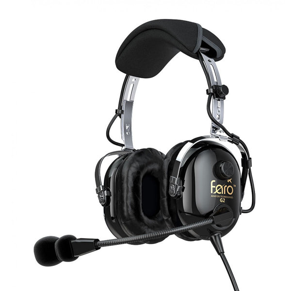 FARO Aviation G2 ANR Aviation Headset - Professional Aviation Headsets