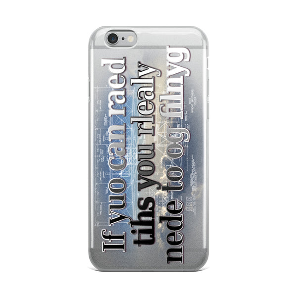 If You Can Read This iPhone Case - Professional Aviation Headsets