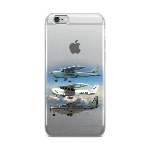 Three Planes iPhone Case - Professional Aviation Headsets