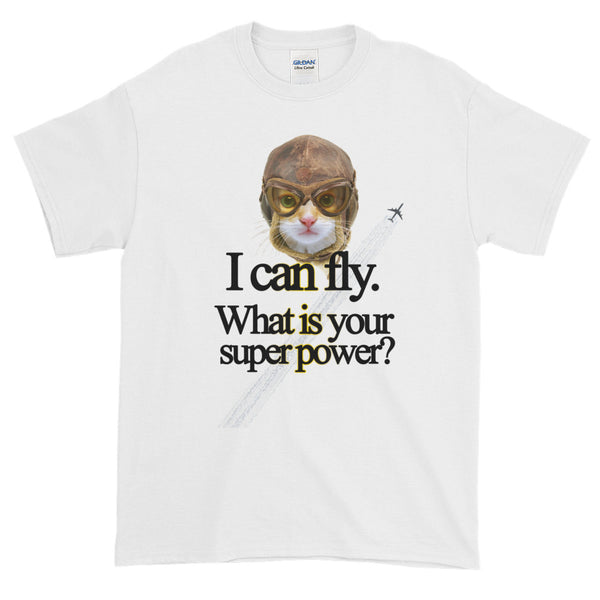 Short-Sleeve T-Shirt PilotCat - Professional Aviation Headsets