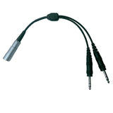 Pilot-USA PA-75/Fischer Ficher (8 Pin) Headset to GA Adapter - Professional Aviation Headsets