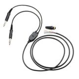 Pilot-USA PA-79 M/S Replacement Headset Comm-cord (Chrome Plugs)