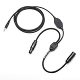 Pilot-USA PA-80B Music Adapter for Bose (6 Pin Lemo) Headset