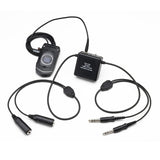 Pilot-USA PA-86A Amplified Cell Phone Adapter GA (Twin Plugs) Version - Professional Aviation Headsets