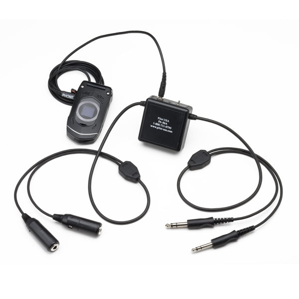 Pilot-USA PA-86A Amplified Cell Phone Adapter GA (Twin Plugs) Version