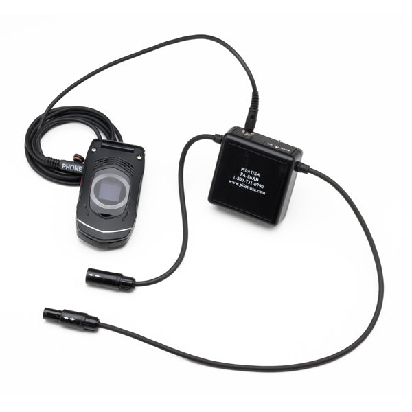 Pilot-USA PA-86AB Amplified Cell Phone Adapter (Panel Power) BOSE