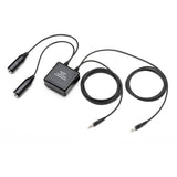 Pilot-USA PA-96 PC to GA (Twin Plugs) Headset Adapter