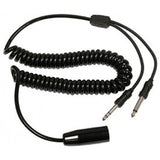 Sigtronics 900052 Helicopter to dual GA adapter, coiled cord, 3-6 ft. - Professional Aviation Headsets