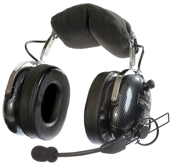 FlightCom Venture V90ANR Stereo ANR Headset - Professional Aviation Headsets