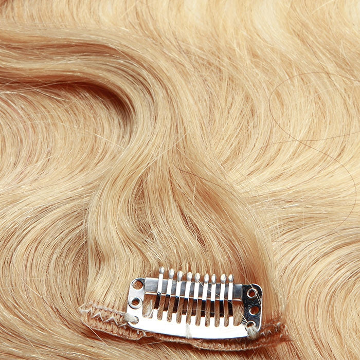 extensions cheveux clip ondul s blond 3dcoiffure. Black Bedroom Furniture Sets. Home Design Ideas