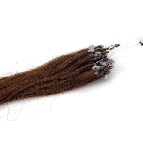 Extensions easy loops naturels raides chocolat