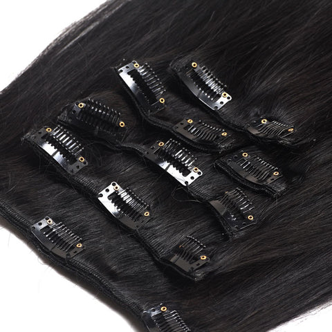 Extension a clips naturel raides noir Sublima™ 240Gr