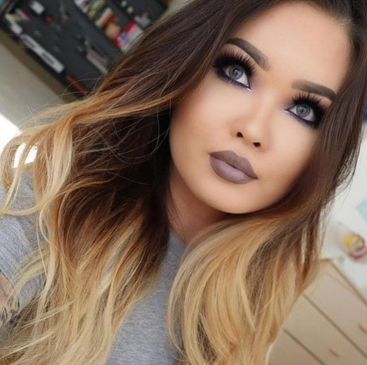 extensions a clips naturel tie and dye brun fonc et chocolat. Black Bedroom Furniture Sets. Home Design Ideas