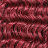 "Postiche 26"" Queue de cheval Wavy Red"