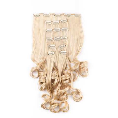 Extension clip cheveux SuperFlex™ ondulés #1003