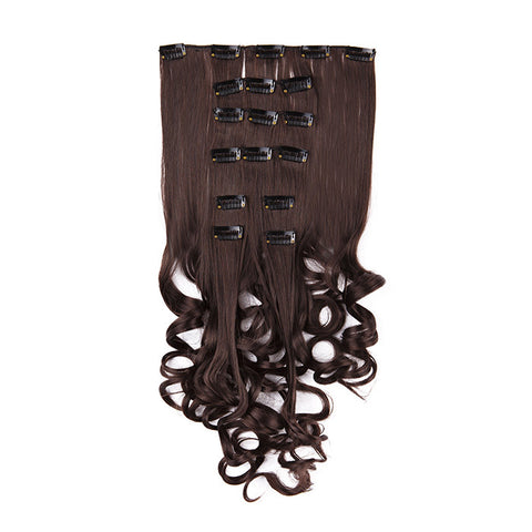 Extension clip cheveux SuperFlex™ ondulés #4005