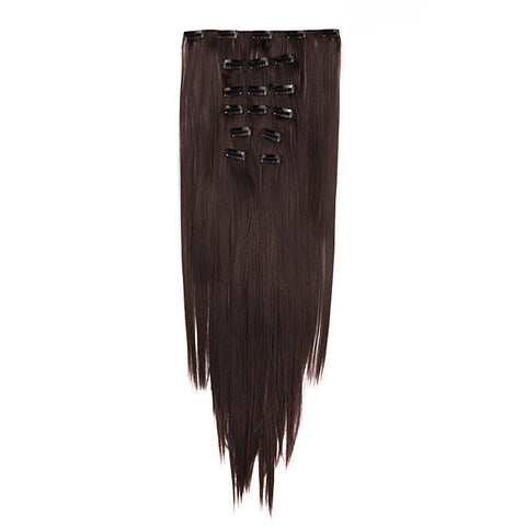 Extension a clips cheveux SuperFlex™ raides #4005