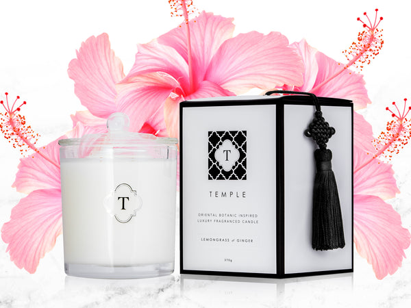 HIBISCUS & SEA AIR CANDLE