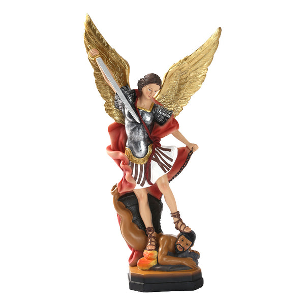 St Micheal the Archangel Statue - 21cm (CN)