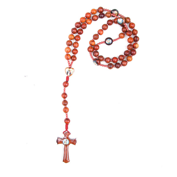 Wooden Plain Rosary