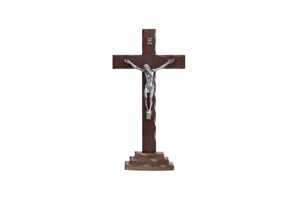 Wood Table Crucifix