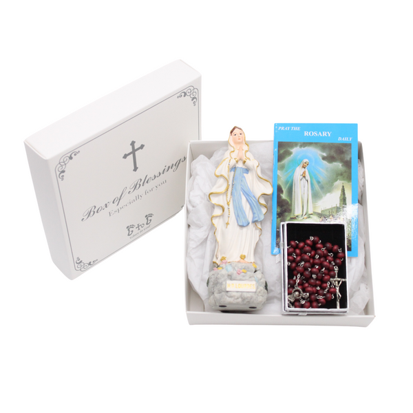 Box of Gifts for Devotion to Our Lady of Lourdes