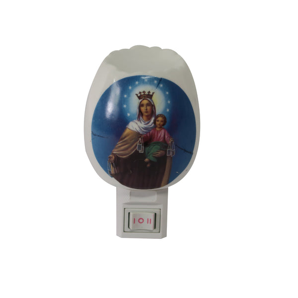 Ceramic Nightlight with Holy Images
