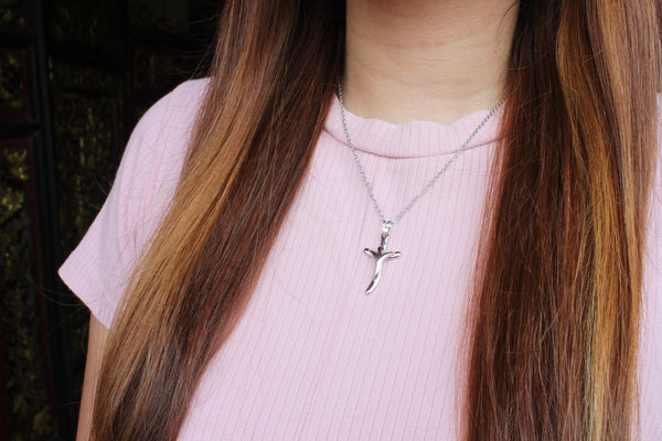 Zircon Cross/Chain Set