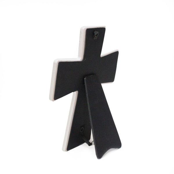 Ceramic Table/wall Inspirational Cross - Trust in the Lord with all your heart