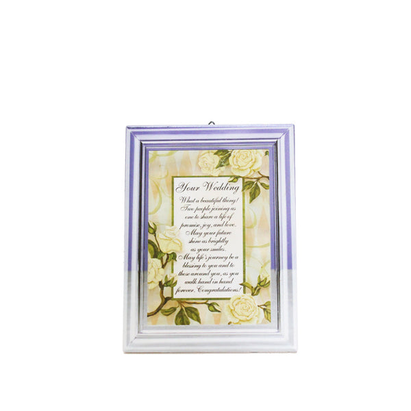 Ceramic Inspirational Plaque - Your Wedding
