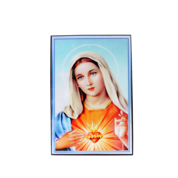 Lacquer Wall Picture - Immaculate Heart of Mary