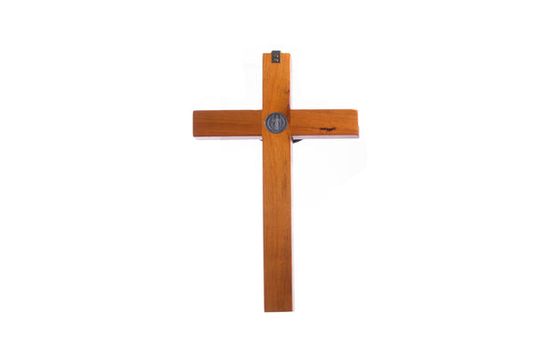Wood St Benedict Wall Crucifix