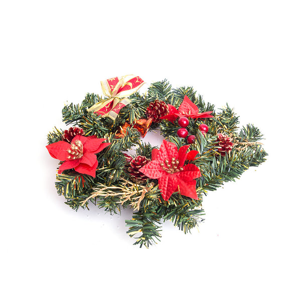 Christmas Door Wreath 11""