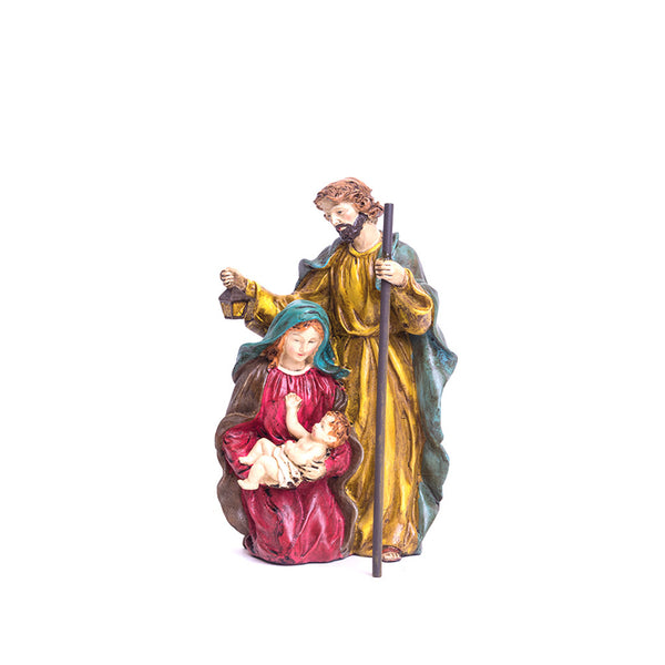 Polystone Holy Family (Color)
